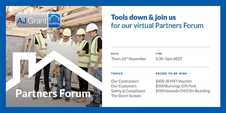 Partners Forum By AJ Grant Group tickets