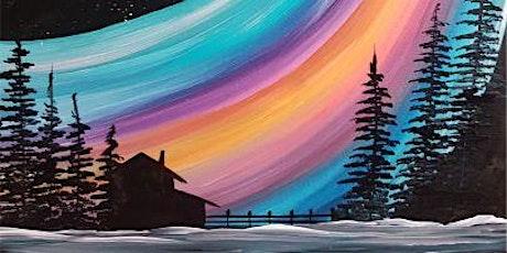 An Evening w/Paintergirl~Lit Up North