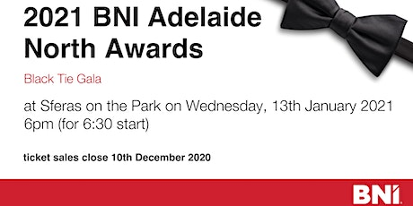 BNI Adelaide North Gala Awards Night tickets