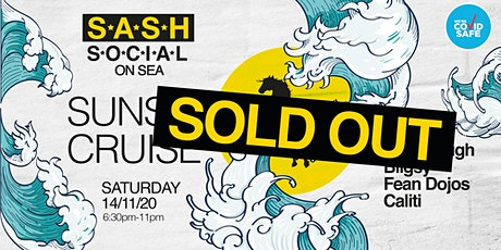 ★ S*A*S*H Social ★ On Sea ★ Saturday ★ Sunset Cruise ★ tickets