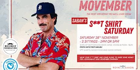 Saban's S**t Shirt Saturday tickets