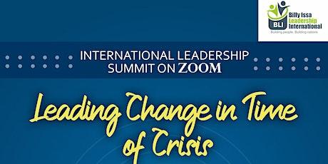 International Leadership Summit  tickets