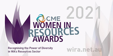 2021 CME Women in Resources Awards Presentation Dinner tickets