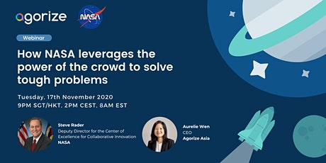 [Webinar] How NASA leverages the power of the crowd to solve tough problems tickets