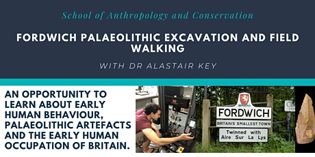 Fordwich Palaeolithic Excavation and Field Walking tickets