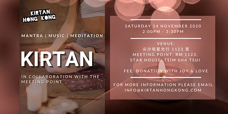 Kirtan at the Meeting Point tickets