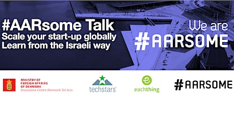 #AARsome Talk: Scale your start-up globally – learn from the Israeli way tickets