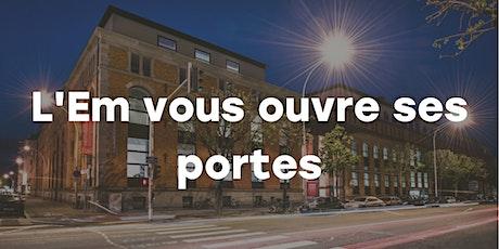 Journée Portes Ouvertes de l'EM Strasbourg tickets