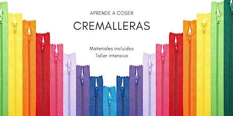 COSTURA DE CREMALLERAS. Taller intensivo. entradas