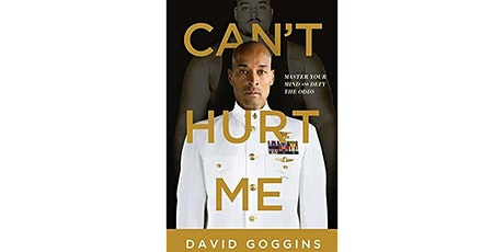 Book Review & Discussion : Can't Hurt Me tickets