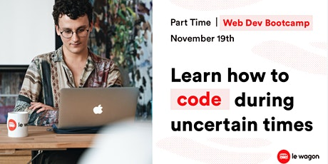 [Open Day] Discover our Part-Time Web Development Bootcamp. tickets