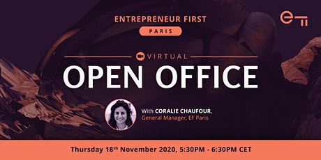 Virtual Open Office - Entrepreneur First Paris billets