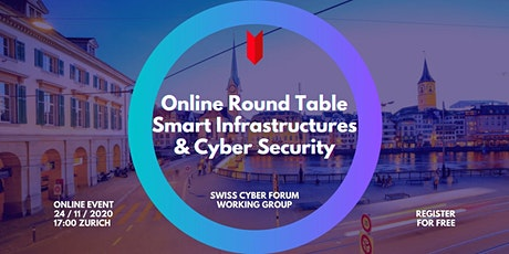 Online Round Table: Smart Infrastructures & Cyber Security tickets