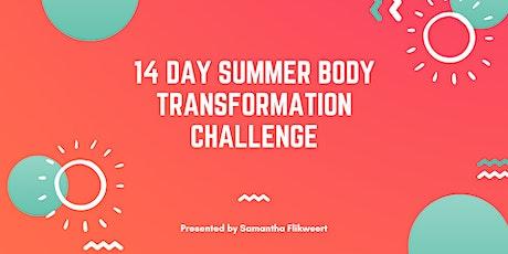 14 Day Summer Body Transformation Challenge tickets