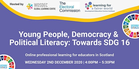Young People, Democracy and Political Literacy: Towards SDG 16 tickets