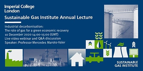 Sustainable Gas Institute Annual Lecture 2020 tickets