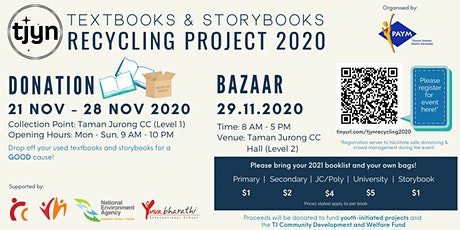 Taman Jurong Textbooks & Storybooks Recycling Project 2020 tickets