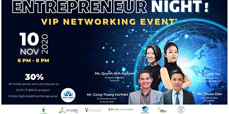 [Register to enter] VIP Networking event | ENTREPRENEUR NIGHT billets