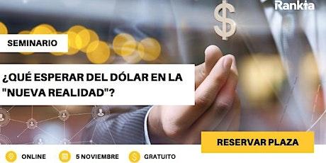 """¿Qué esperar del dólar en la """"nueva realidad""""? entradas"""