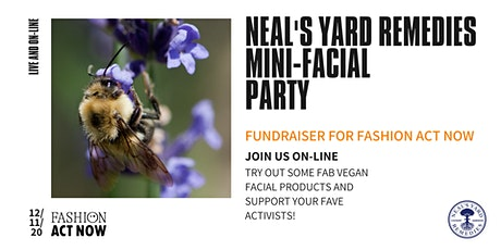 Mini-facial Fundraiser for Fashion Act Now tickets