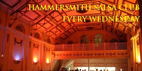 Hammersmith Salsa & Bachata Club every Wednesday tickets