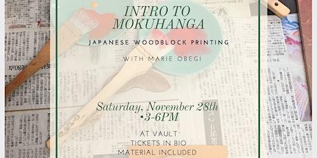 Intro to Mokuhanga (Japanese Woodblock Printing) tickets