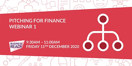 Pitching for Finance Webinar - Part 1 tickets