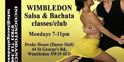 Salsa & Bachata on Mondays at Wimbledon Salsa & Ba