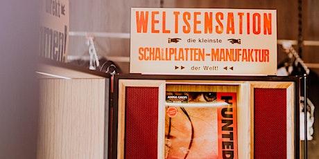 MW:M Satellite: KulturManufaktur - VinylManufaktur PHONOCUT by Dussmann tickets