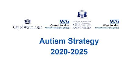 Autism Strategy: Workshop 3 tickets