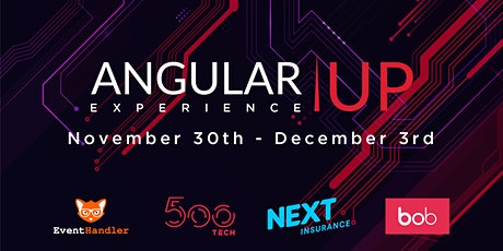 AngularUP Experience tickets