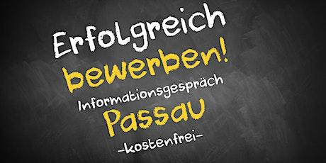 Bewerbungscoaching Online kostenfrei - Infos - AVGS  Passau Tickets