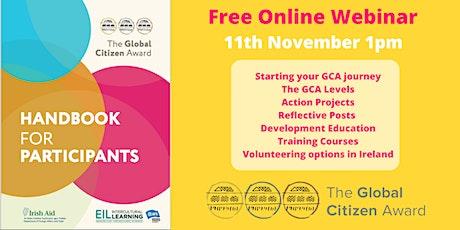 Global Citizen Award Handbook Webinar tickets