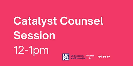 Catalyst Counsel Information Session tickets