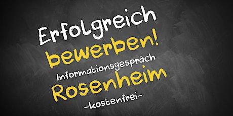 Bewerbungscoaching Online kostenfrei - Infos - AVGS Rosenheim Tickets