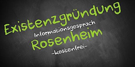 Existenzgründung Online kostenfrei - Infos - AVGS  Rosenheim Tickets