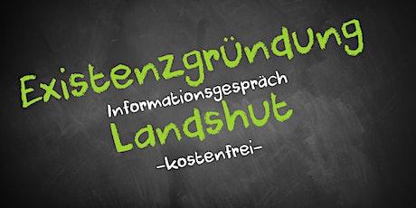 Existenzgründung Online kostenfrei - Infos - AVGS Landshut Tickets