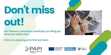 PAPI Online  Innovation Workshop - 11th February tickets