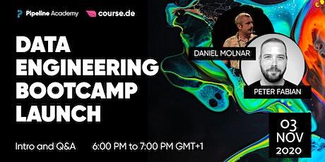 Data Engineering Bootcamp Launch: Info Webinar tickets