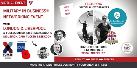 Military in Business Virtual Networking Event-London and Liverpool tickets