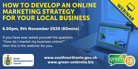 How to Develop an Online Marketing Strategy for Your  Local Business tickets