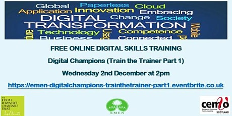 Digital Champions Train the Trainer Part 1(EMEN Digital Inclusion Workshop) tickets