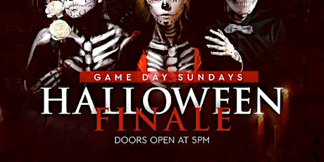 GAME DAY SUNDAYS PRESENTS HALLOWEEN FINALE tickets