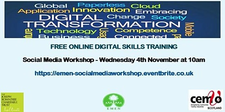 Social Media Workshop (EMEN Digital Inclusion Workshop) tickets
