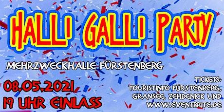 Halli-Galli-Party in Fürstenberg tickets