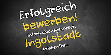 Bewerbungscoaching Online kostenfrei - Infos - AVGS  Ingolstadt Tickets