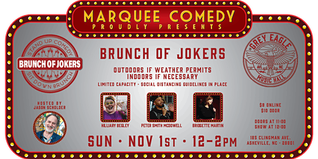 PATIO SHOW: Brunch of Jokers tickets