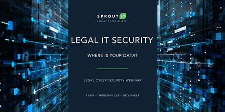Where is your data? - Legal IT Webinar tickets