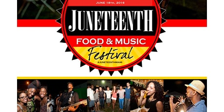 Juneteenth Miami Freedom Fry & Music Festival 2020 tickets