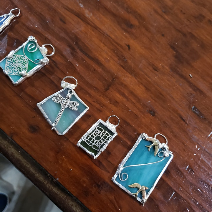 Stained Glass Jewelry Class image